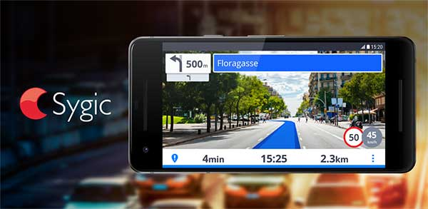 GPS Navigation Maps Sygic