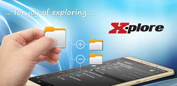 X plore File Manager Mod