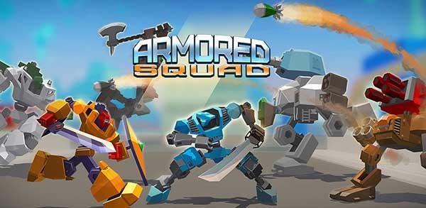 Armored Squad Mechs vs Robots Mod