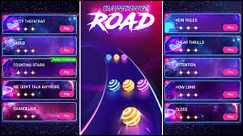 Dancing Road Color Ball Run Apk