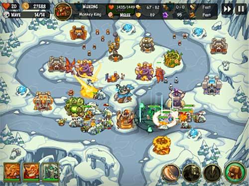 Empire Warriors TD: Defense Battle Apk