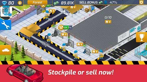 Idle Car Factory Apk