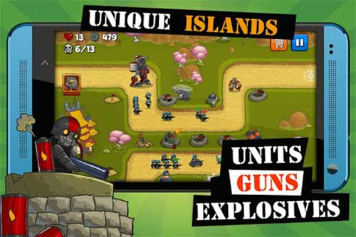 Islands Defense Apk