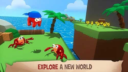 Kraken Land Platformer Adventures Apk