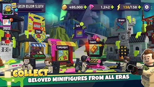 LEGO Legacy Unboxed Heroes Apk