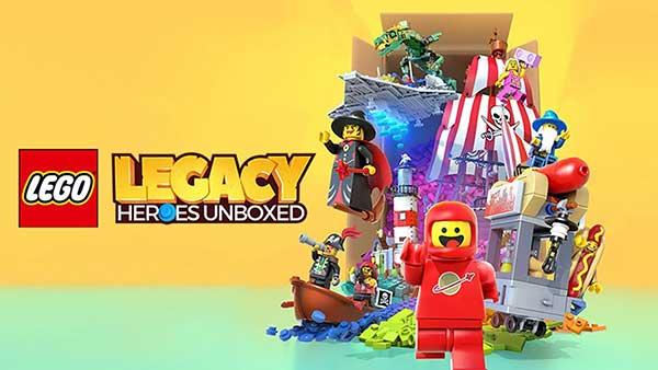 LEGO Legacy Unboxed Heroes