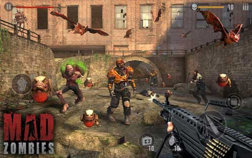 MAD ZOMBIES Free Sniper Games Apk