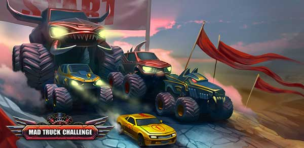 Mad Truck Challenge Racing Mod