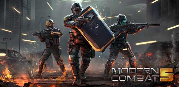 Modern Combat 5 Blackout Mod