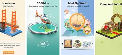 Pocket World 3D Apk