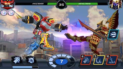 Power Rangers Legacy Wars Apk