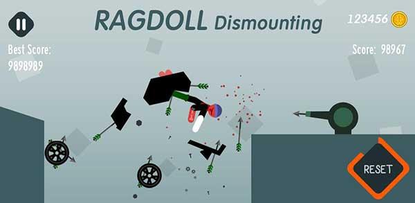 Ragdoll Dismounting Mod