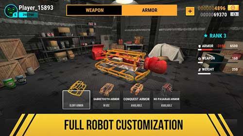 Robot Fighting 2 Minibots 3D Apk