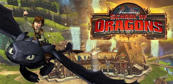 School of Dragons Mod