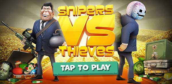 Snipers vs Thieves Classic Mod