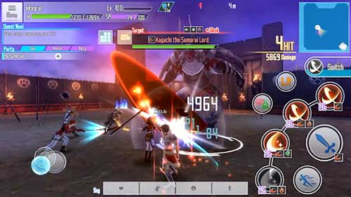 Sword Art Online Integral Factor Apk