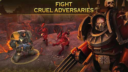 Warhammer 40000 Space Wolf Apk