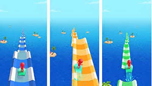 Water Race 3D Aqua Music Game Apk