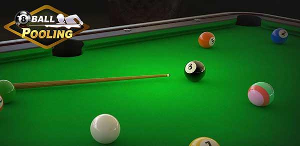 a 8 ball pooling billiards pro mod