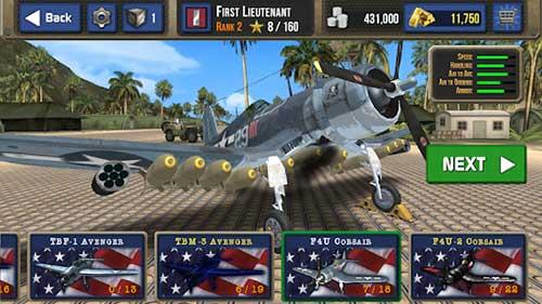 air combat pilot ww2 pacific apk