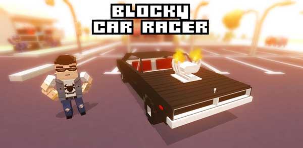 blocky car racer mod