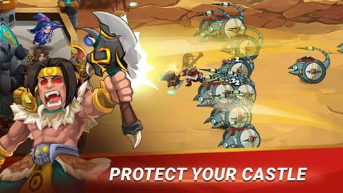 Castle Defender Hero Shooter Apk