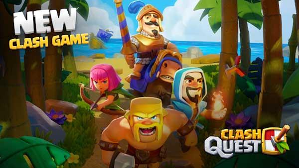 clash quest mod