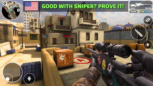 Counter Attack Team 3D Shooter Apk