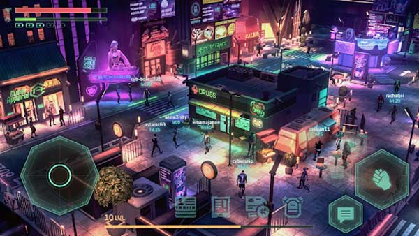 cyberika action cyberpunk rpg