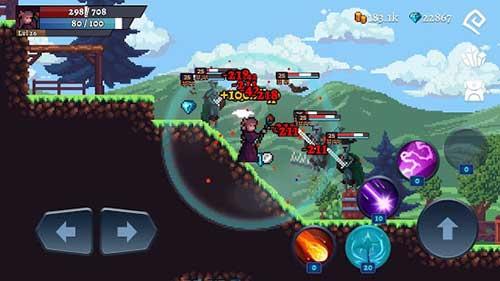 darkrise pixel classic action rpg apk