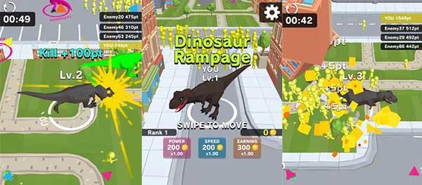 Dinosaur Rampage Apk