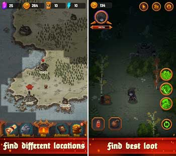 dungeon age of heroes apk