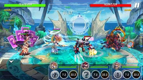 Heroes Infinity : God Warriors Apk