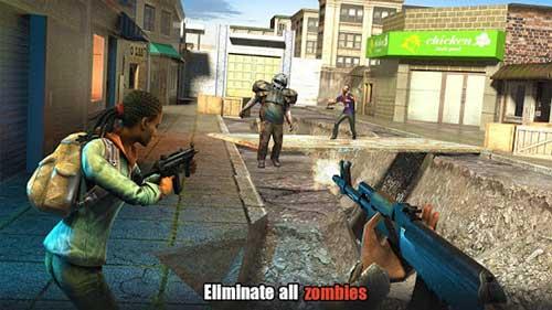 hopeless raider zombie shooting games apk