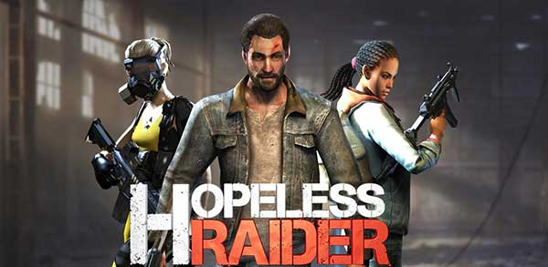 hopeless raider zombie shooting games mod