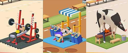 Idle Fitness Gym Tycoon Apk