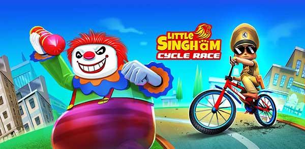 little singham cycle race mod