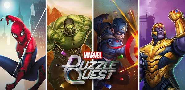 marvel puzzle quest mod