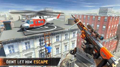 new sniper shooter apk