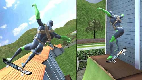 rope frog ninja hero apk