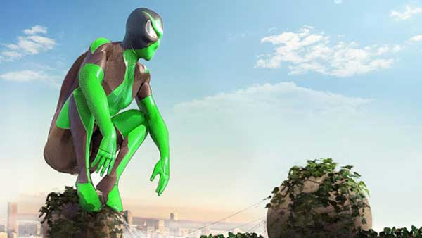 rope frog ninja hero mod