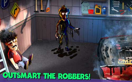 scary robber home clash apk