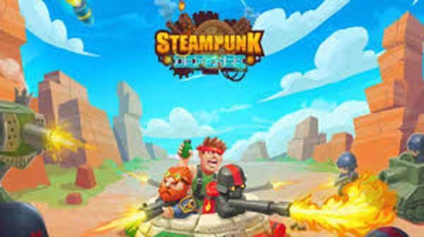 Steampunk Defense Tower Defense