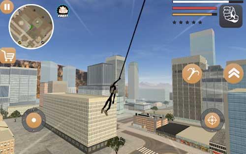 stickman rope hero 2 apk