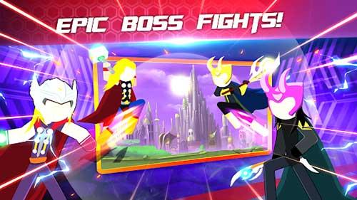 super stickman heroes fight apk