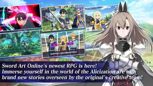 sword art online alicization rising steel apk