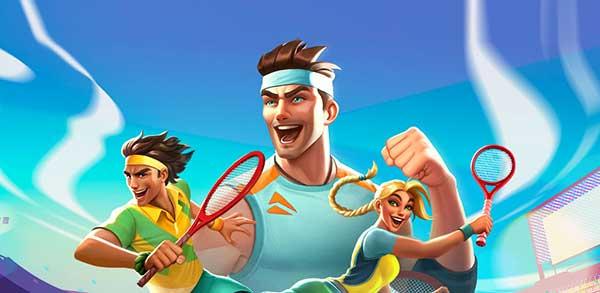 Tennis Clash 3D Sports Mod