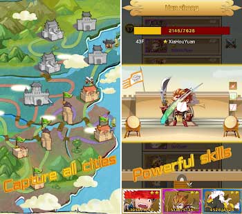 three kingdoms rush apk