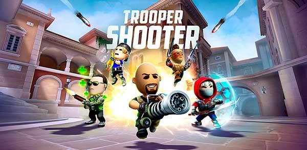 trooper shooter: critical assault fps mod