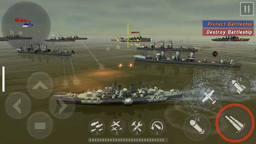 warship battle 3d world war ii apk